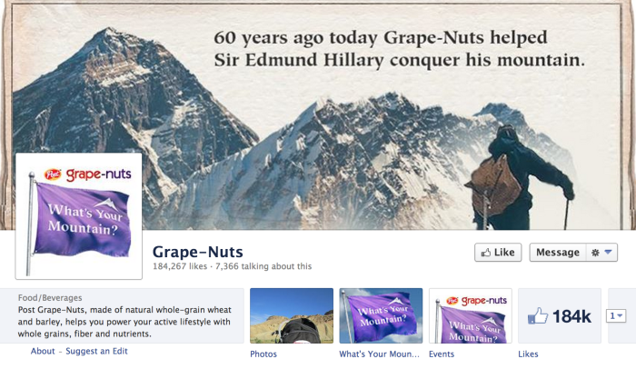 Grape Nuts!