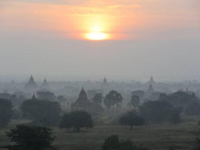Sunset in Bagan